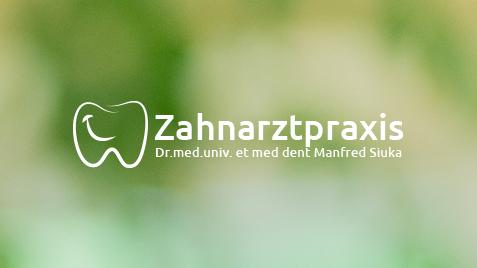 Homepage für Zahnarzt - Praxis Dr. Siuka