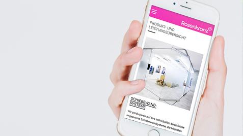 Responsive Homepage mit SEO