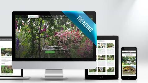 Newsletter und Homepage für den Verein Garten Lust