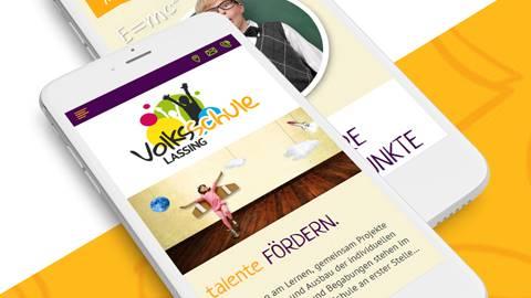 Erstellung Responsive Webdesign - VS Lassing